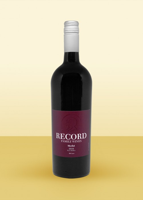 2010 Record Family Wines, Merlot