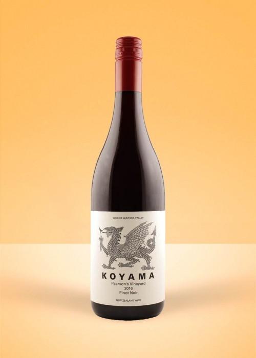 2016 Koyama Pearson's Vineyard Pinot Noir, Waipara Valley