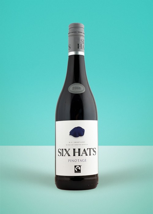 2018 Six Hats Pinotage