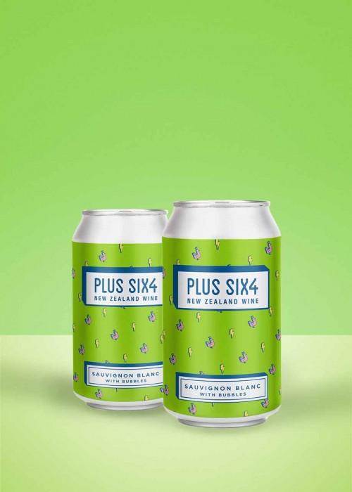 Plus Six4 Sauvignon Blanc with Bubbles (2-pack)