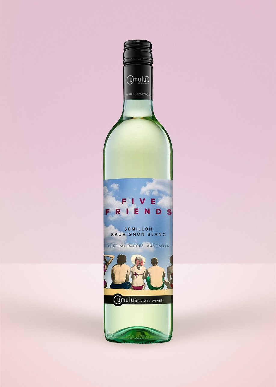 2017 Five Friends White Blend