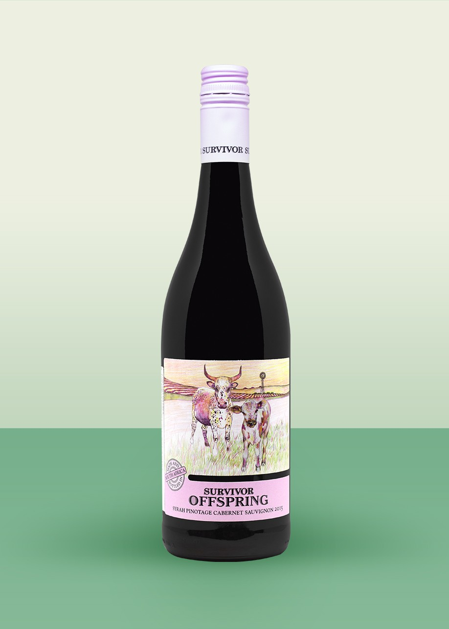 "2015 Survivor, ""Offspring,"" Cape Red Blend"